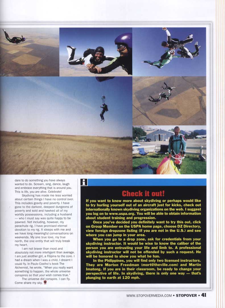 Jump for Joy article by Gigi Auditor on Stopover magazine part 2